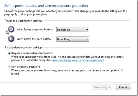 how to find power options in windows 7