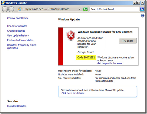 Code-80072EE2-windows-7-update-error