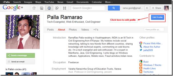 Palla_Ramarao_Google_Plus_Profile