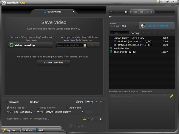 streaming_video_record_using_Audials_1