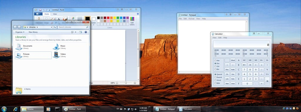 How to Duplicate Taskbar on Second Monitor in Windows 7 using