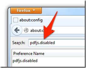 Enable PDF Viewer in Firefox 15 - No Add-on required! 6