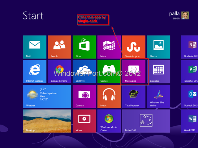Messaging App, Windows 8 - Block all Notifications from MSN and FaceBook 3