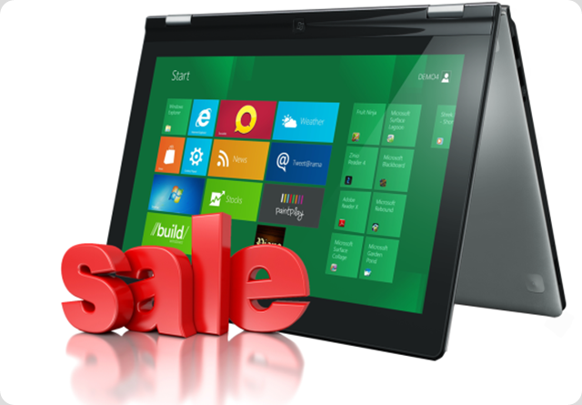 Pre Order Sales of Windows 8 devices - Price List