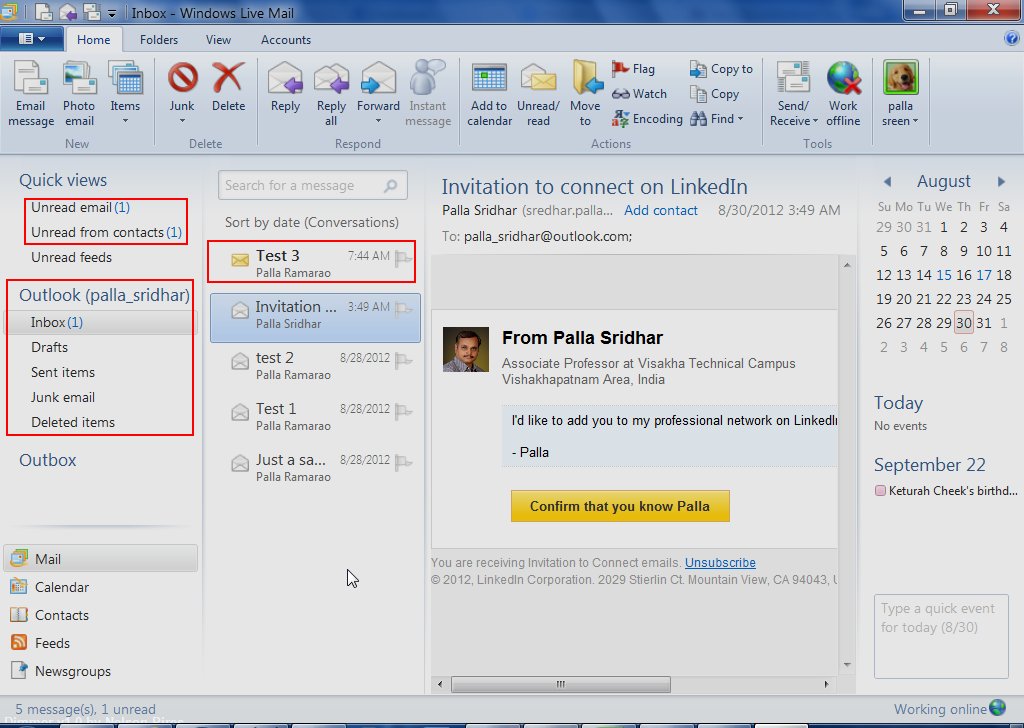 How to Add Outlook com Email Account to Windows Live Mail