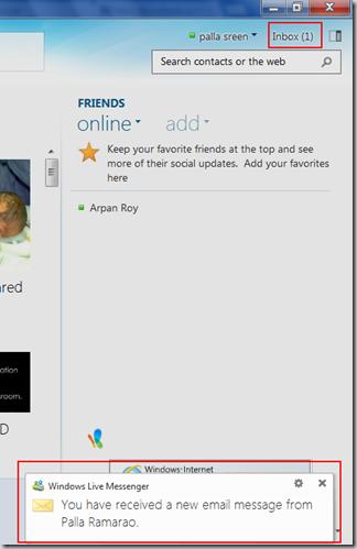Windows_Live_Messenger_2012_new_email_message_Inbox