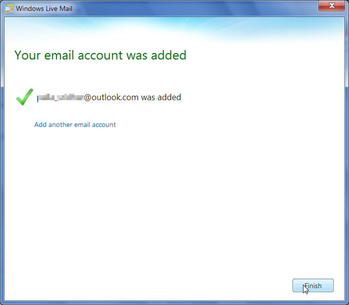 how to change from windows live mail to outlook