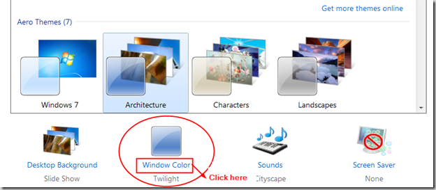 Windows-7-Personalize-Window-color