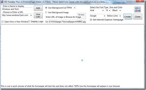 create_custom_homepage_in_IE9
