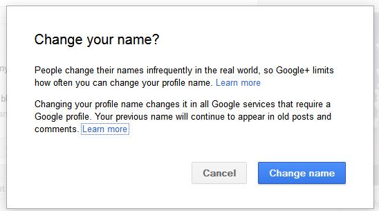 Nickname change account google How to