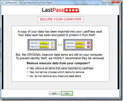Password Management Tools for IE9 – LastPass & IE PassView