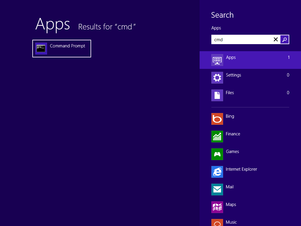 Windows 8 Command Prompt In Elevated Mode Quot Run As