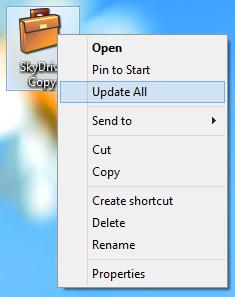 SkyDrive Windows 8 BriefCase
