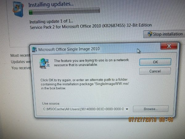 Ultimate Solution To All Problems Of Office 2010 Sp2 Update Installation
