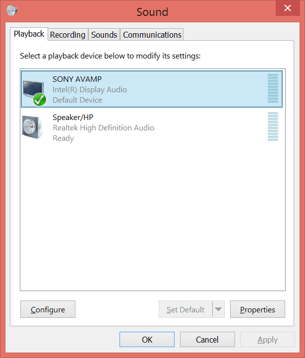 how to connect hdmi windows 7