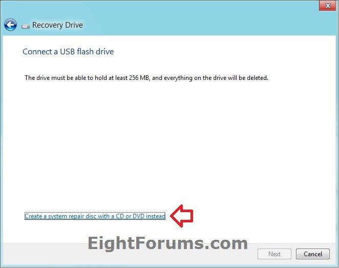 a windows 8 repair disk