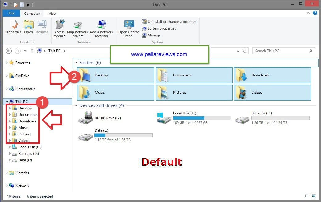Remove Or Restore Default Folders From Quot This Pc Quot In