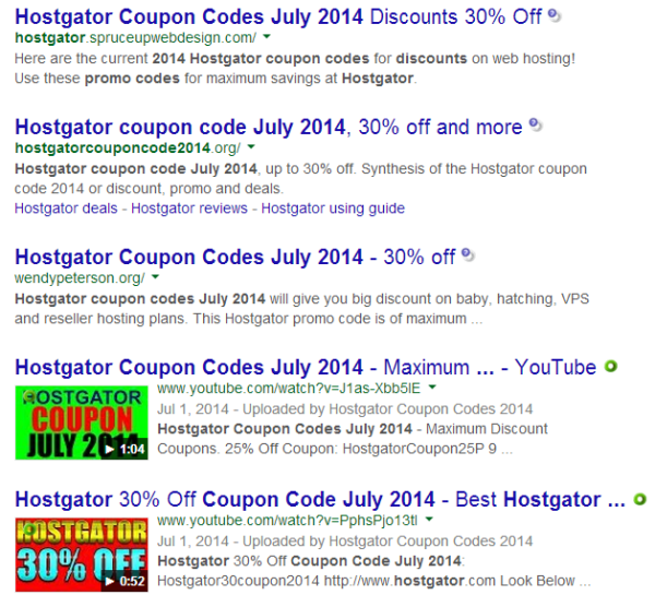 HostGator Discount offers 2014