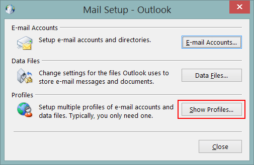 Fix Outlook Stuck on Loading Profile – 2016, 2013, 2010 – Some Solutions