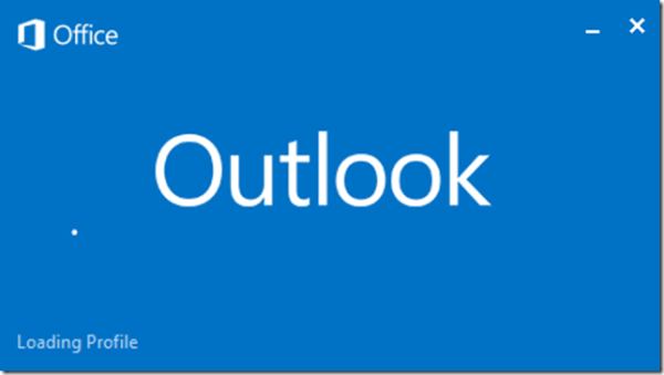 """Fix Outlook 2013 and 2010 """"Loading Profile"""" Problems - Several Solutions"""