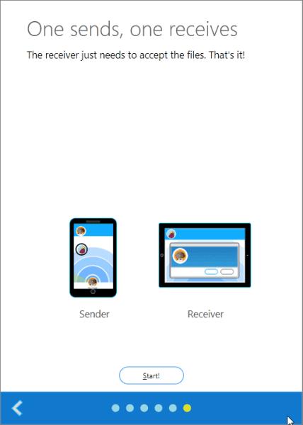 Start ShareIt on Windows