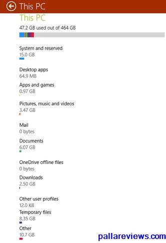 Storage Sense in Windows 10 desktop