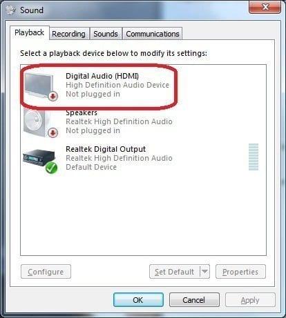 Fix Hdmi Sound Not Working In Windows 10 User Testified