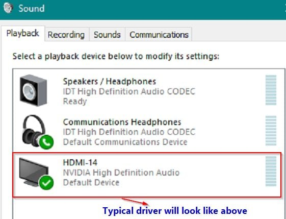 Fix HDMI Sound Not Working in Windows 10 – User Testified