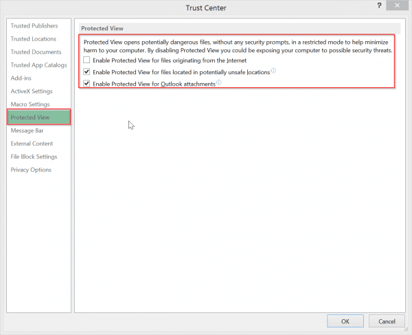 trust-center-protecetd-view-options-excel-2013