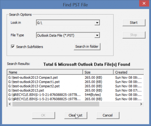 search-pst-files-stellar-outlook-toolkit