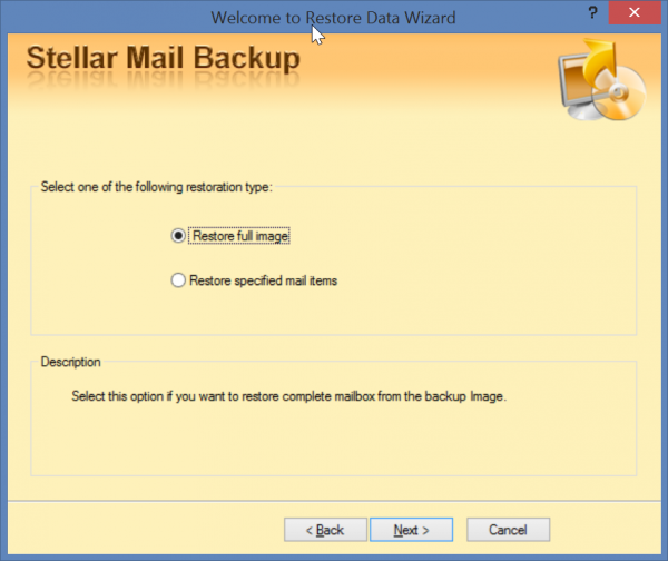 stellar-mail-backup-Restore-Data-Wizard