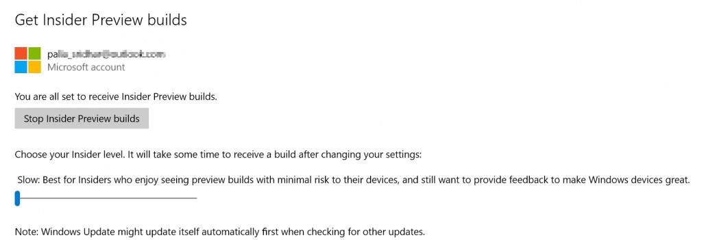 windows 10 get latest builds