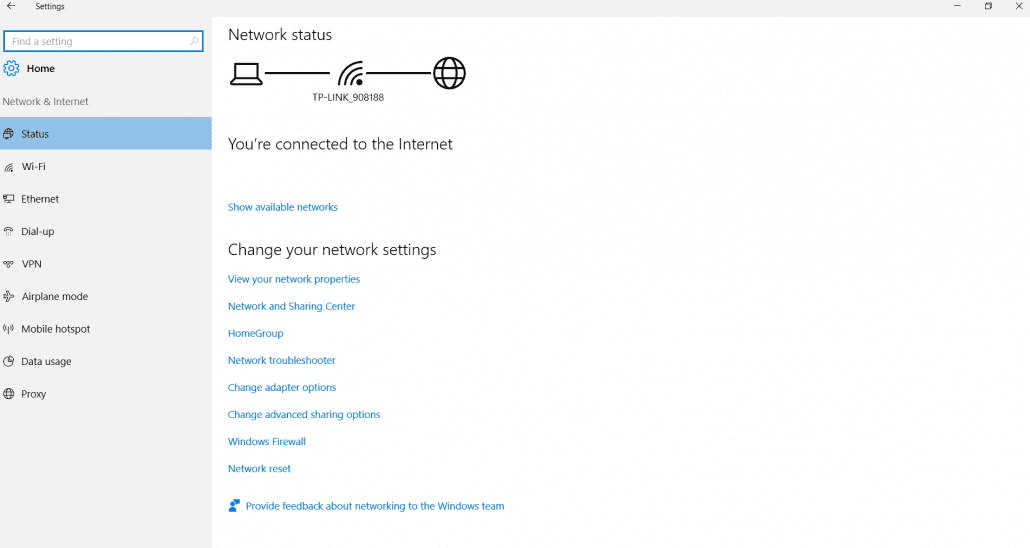status-network-settings-windows-10