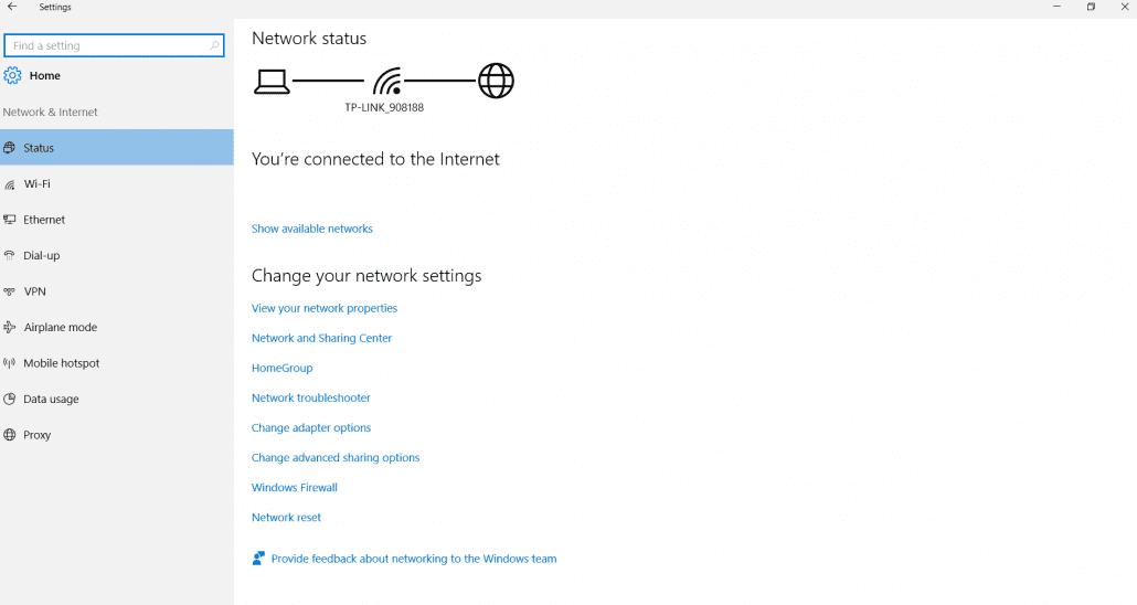 status-network-settings-windows-10