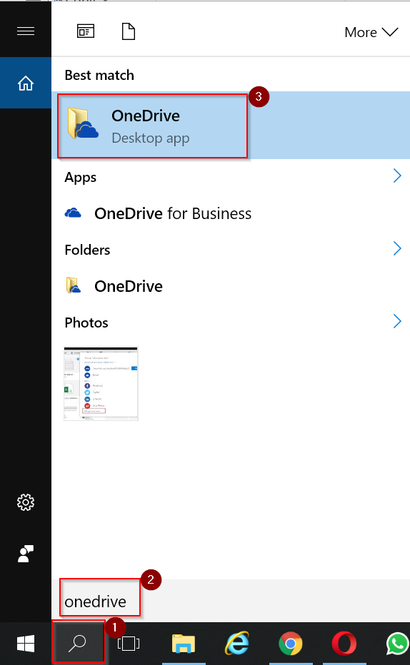 how to sync or pause or resume onedrive in windows 10 and