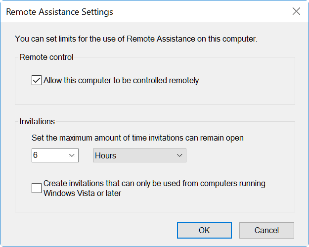 remote-assistance-advanced-settings-windows-10