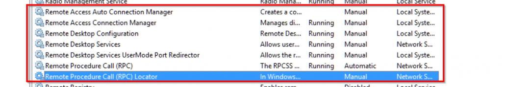remote-services-windows-10