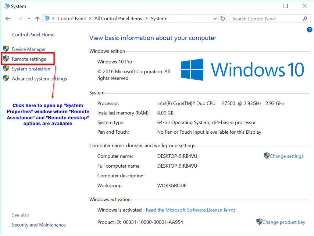 How to Enable Remote Desktop in Windows 10 or 8.1 or 7 ...