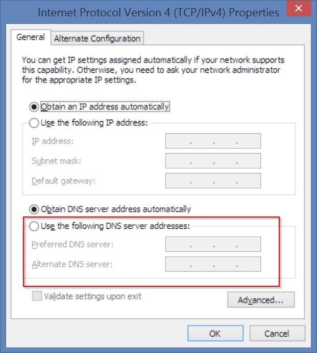 set-google-dns-servers-error-code-8024402c-fix