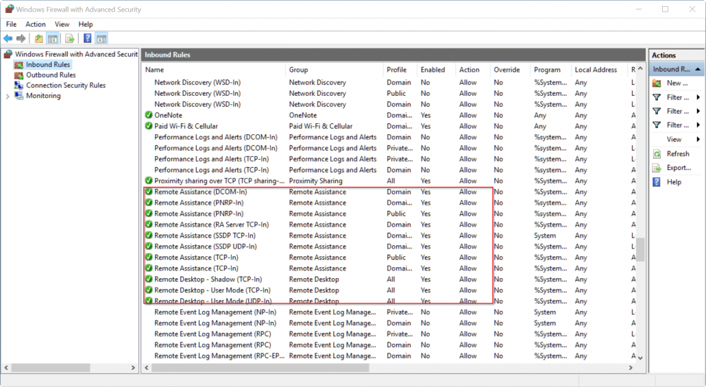 windows-firewall-advanced-settings-for-remote-desktop-connection