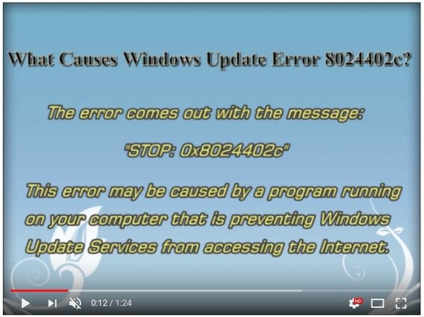 Solved] How to Fix Error Code 8024402c in Windows 10 or 8 1 or 7 or