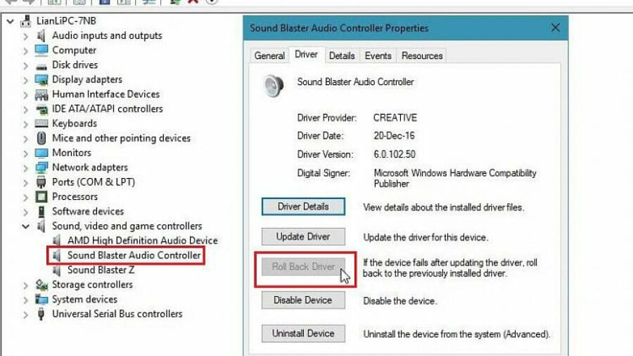 Download Creative Sound Blaster z drivers >> Sound Not Working in