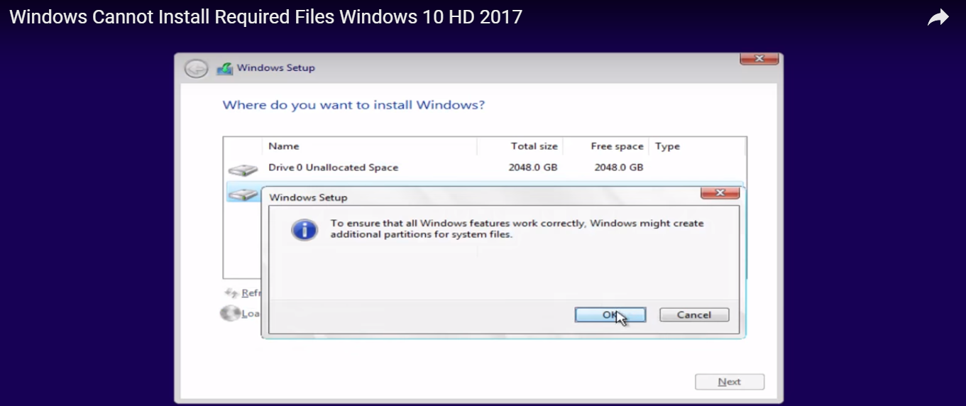 Solved] Fix Windows 10 or 8 1 or 7 Installation Error Code 0x8007025d