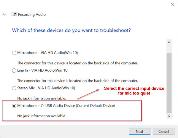 """How to Fix """"Windows 10 Microphone Too Quite"""" Problem"""