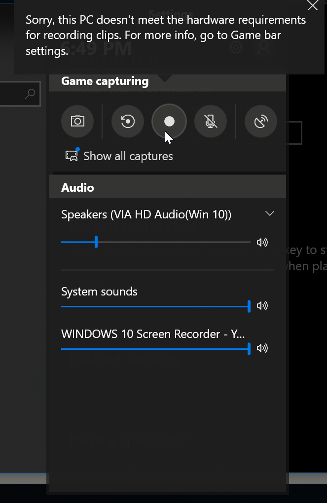 how to record screen on windows 7 and 10