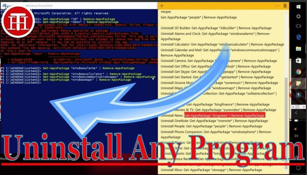 How to Uninstall Apps in Windows 10 [Inbuilt or PreInstalled