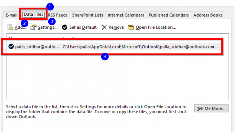 [Solved] Outlook Error 0x8004010F in 2010 or 2013: Data File Cannot Be Accessed