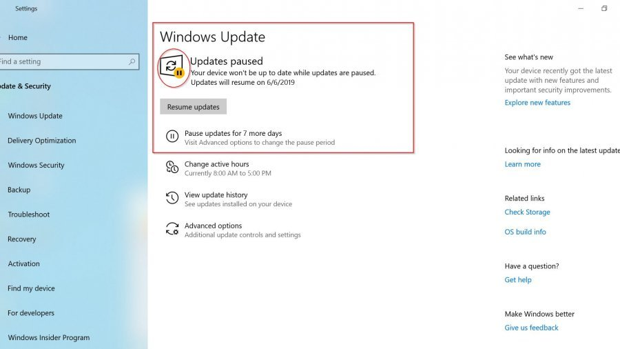 Windows 10 1903 Update Setting : What are the New Options Available