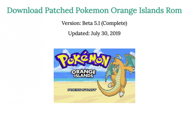 Pokemon sweet version download gba4ios