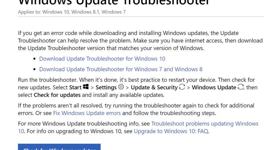 How to Fix Error Code 0xc1900223 in Windows 10 after 1903 update